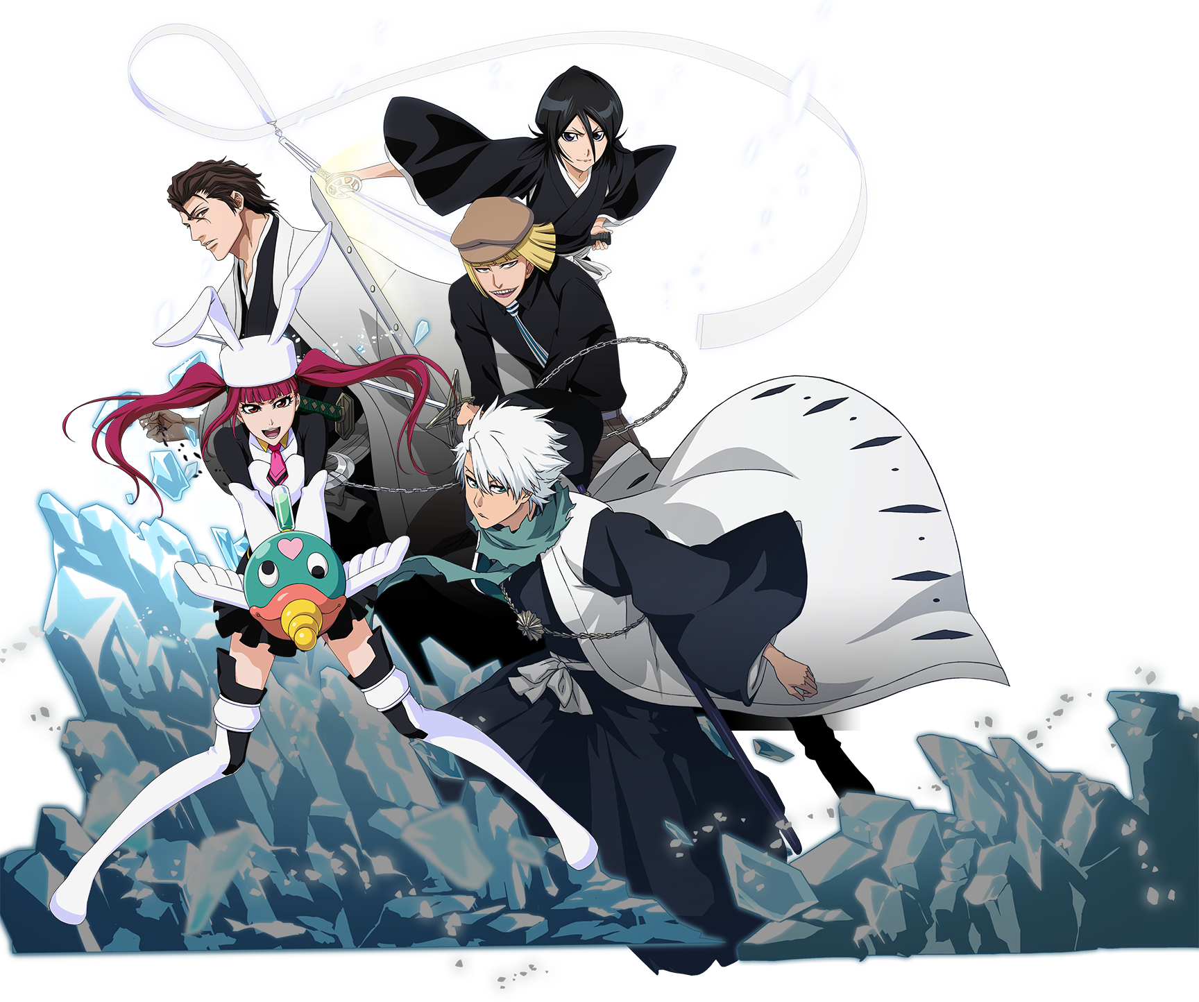 Bleach is now in a game! Make the strongest team possible with beloved characters!
